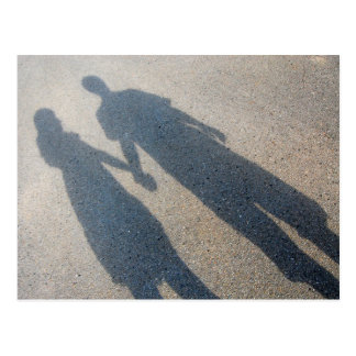 Cartão do casal da sombra