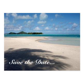 Cartão do casamento do destino cartões postais