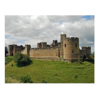 Cartão do castelo de Alnwick
