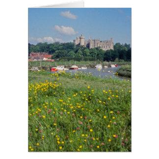 Cartão do castelo de Arundel