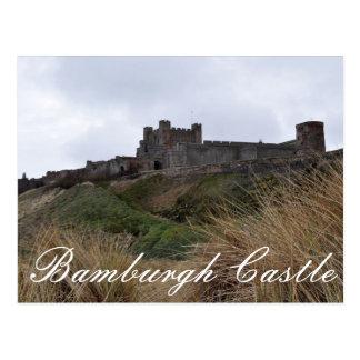 Cartão do castelo de Bamburgh