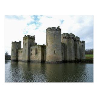Cartão do castelo de Bodiam