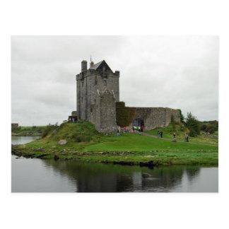 Cartão do castelo de Dunguaire