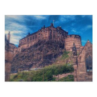 Cartão do castelo de Edimburgo