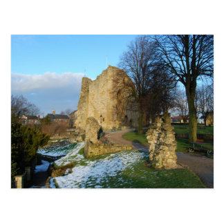 Cartão do castelo de Knaresborough