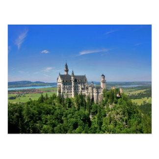 Cartão do castelo de Neuschwanstein