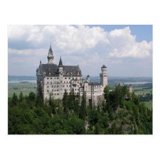 Cartão do castelo de Neuschwanstein Cartao Postal