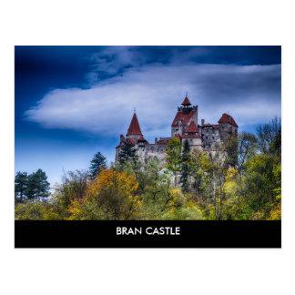 Cartão do castelo do farelo