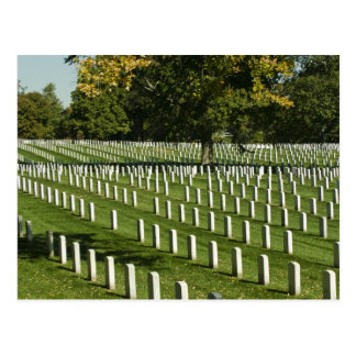 Cartão do cemitério nacional de Arlington
