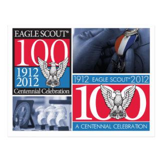 Cartão do Centennial de Eagle Scout