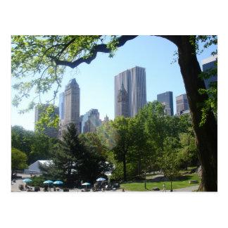 Cartão do Central Park