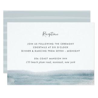 Cartão do cerco da recepção da maré baixa