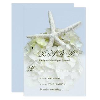 Cartão do cerco da resposta do casamento do jardim