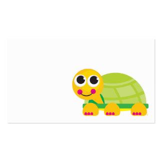 Cartão do cerco da tartaruga modelos cartao de visita