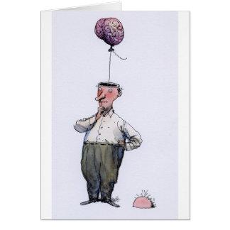 Cartão do cérebro