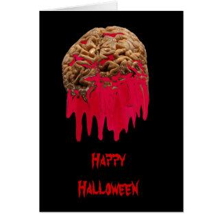 Cartão do Cérebro-cumprimento do sangramento