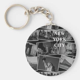 Cartão do chaveiro de NY