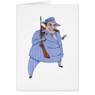 Cartão do chefe do Mafia