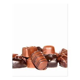 Cartão do chocolate