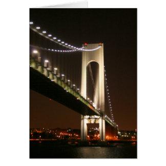 Cartão do close up da ponte