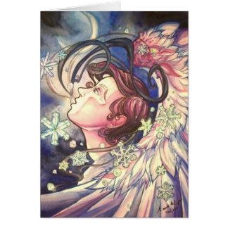 Cartão do close up de Gabriel