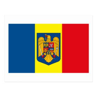 Cartão do COA de Romania w