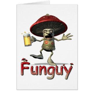 Cartão do cogumelo de Funguy