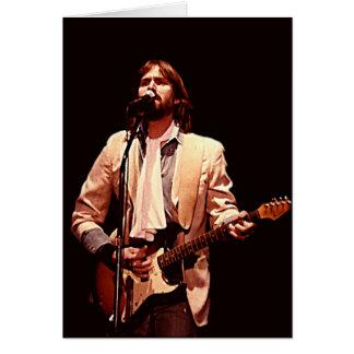Cartão do concerto de Dan Fogelberg 1984