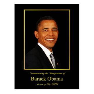 Cartão do convite da inauguração de Obama