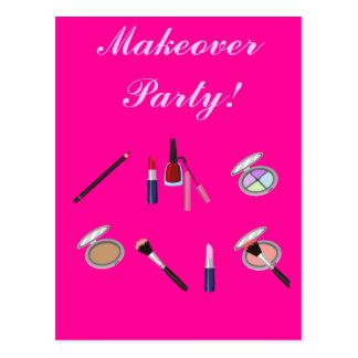 Cartão do convite de festas da reforma