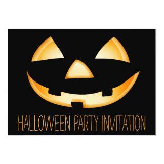 Cartão do convite de festas do Dia das Bruxas da