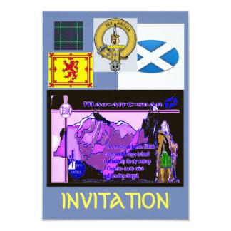 Cartão do convite de MacIntyre
