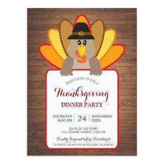 Cartão do convite de Turquia do partido de
