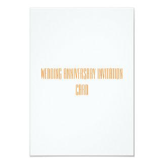 Cartão do convite do aniversário de casamento