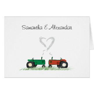 Cartão do convite do casamento da fazenda do verão