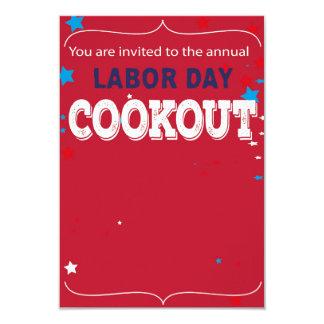 cartão do convite do Dia do Trabalhador