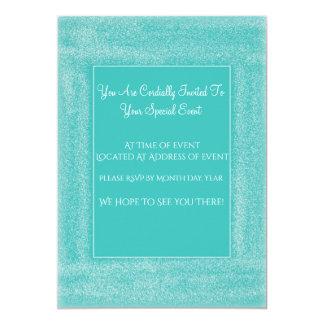 Cartão do convite do evento especial