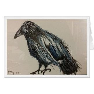 Cartão do corvo