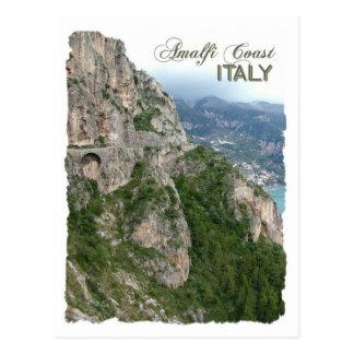 Cartão do costume da costa de Amalfi