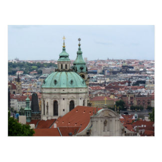 Cartão do costume de Praga/Praha