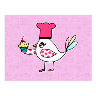 Cartão do cozinheiro chefe de pastelaria do