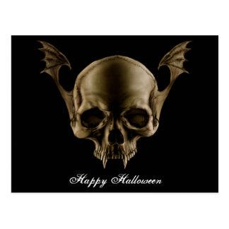 Cartão do crânio do vampiro
