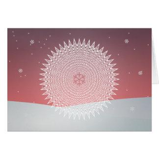 Cartão do crepúsculo