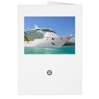 Cartão do cruzeiro