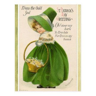 Cartão do cumprimento do dia de St Patrick