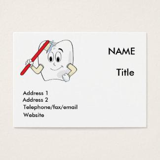 Cartão do dentista