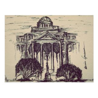 Cartão do desenho de Texas A&M