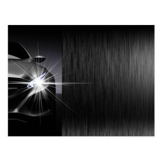 Cartão do design do metal de Preto Carro