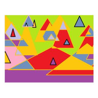 cartão do design dos teepees