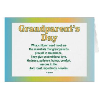 Cartão do dia 2 das avós